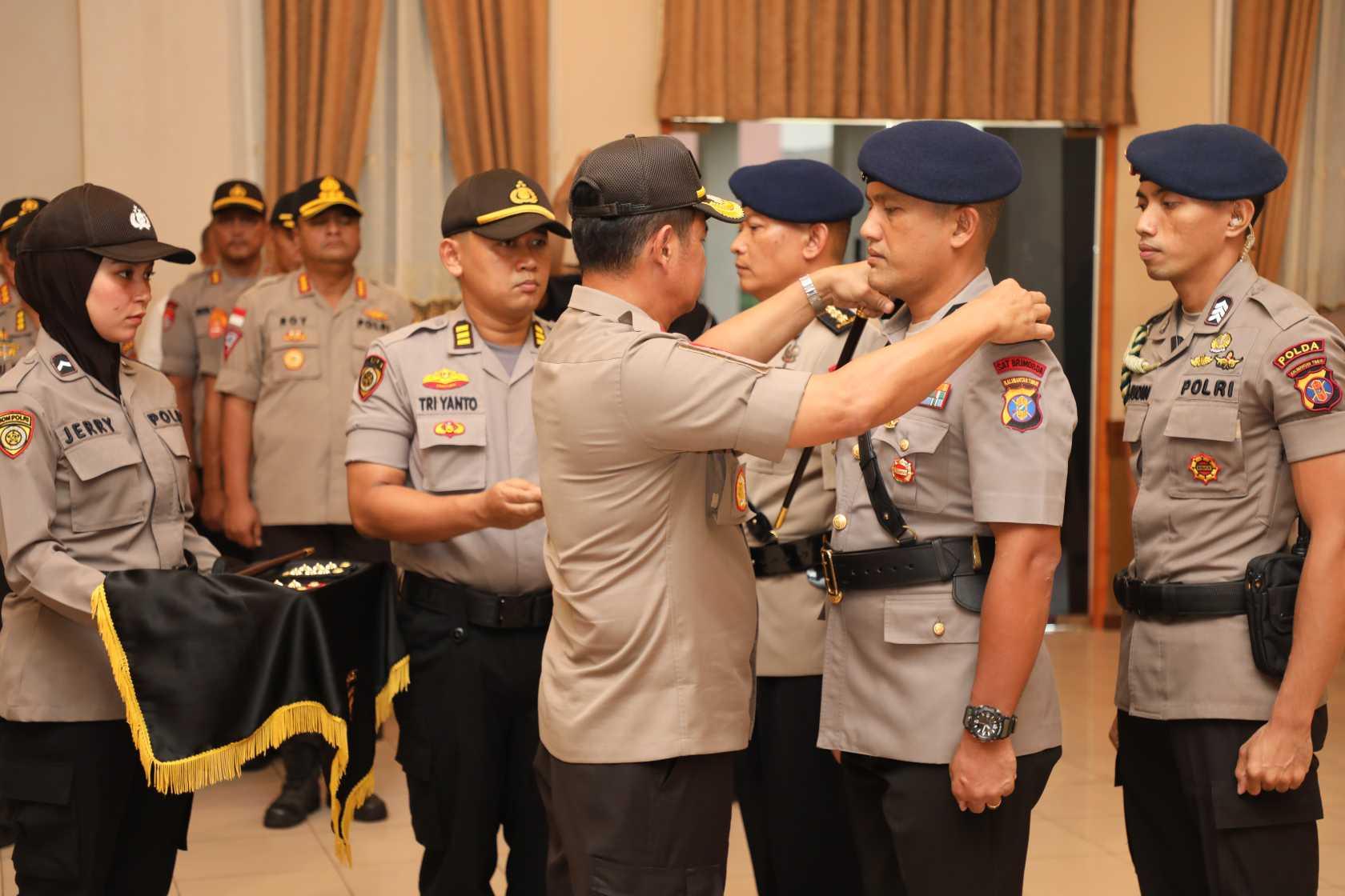 Kombes Pol Sitanggang Jabat Dansat Brimob