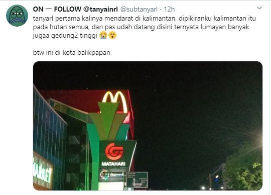 Photo of Mengira Kalimantan Cuma Hutan, Tweet Ini Auto Dihujat