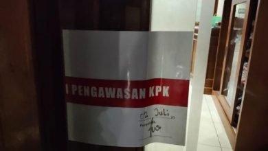 Photo of Ruangan Bupati Kutim Disegel KPK