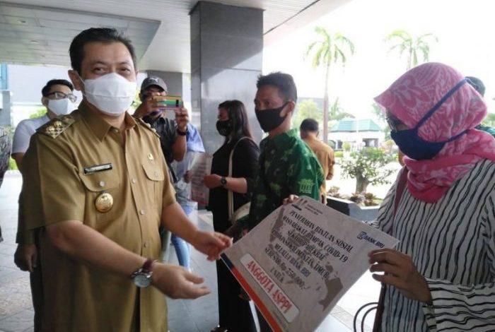 Pemprov Kaltim Cairkan Bansos untuk Balikpapan