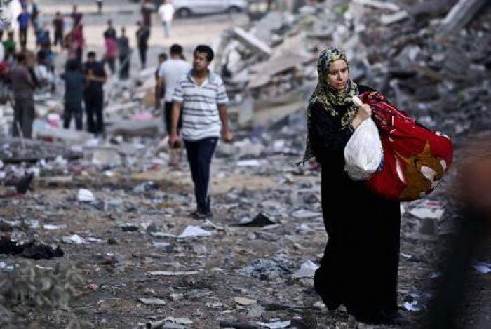 Qatar Beri Bantuan ke Penduduk Gaza