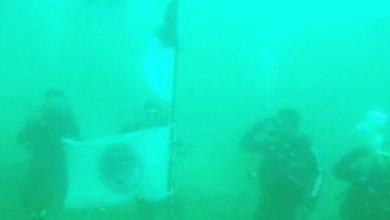 Photo of Peringati Hut RI Ke 75, Jamrut DC Kibarkan Bendera Merah Putih Dibawah Laut PPU