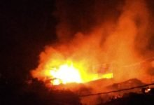 Photo of Pemukiman Gunung Kemendur Balikpapan Terbakar