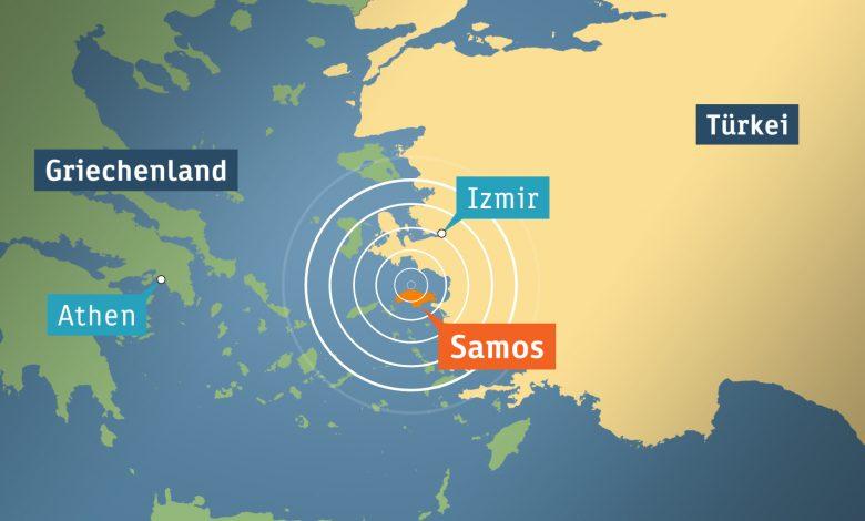 Gempa Kuat Guncang Kawasan Aegea