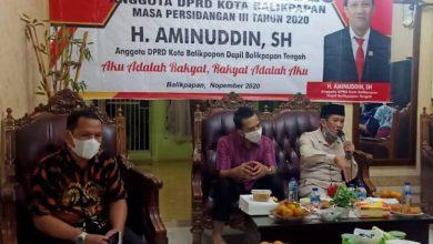 Photo of Aminuddin Soroti Lahan Puskib