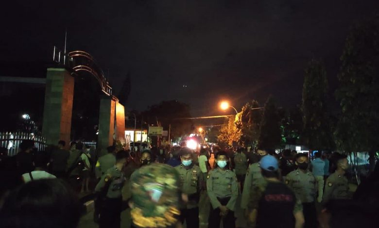 Rumah Calon Wakil Walikota Bontang Diserang