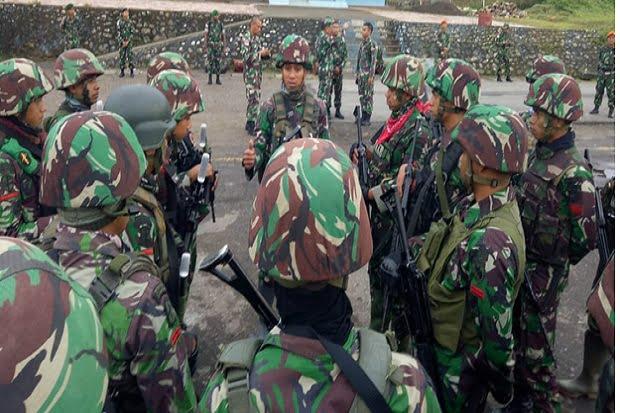 Prajurit TNI Hilang di Papua