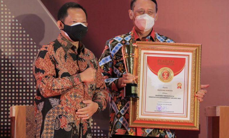 Banten Raih Penghargaan Provinsi Terinovatif