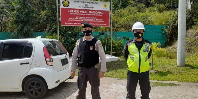 Polda Kaltim Beri Keamanan di Objek Vital