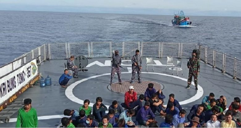 TNI AL Tangkap Tujuh KIA