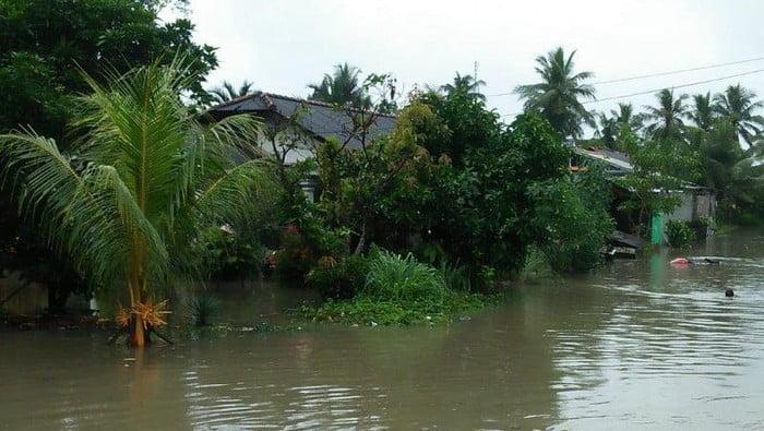 Ribuan Rumah Terendam Banjir