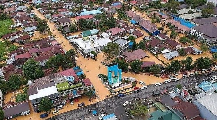 9.600 Jiwa Terdampak Banjir Kalsel