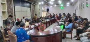 Hearing LSM Garis Kaltim dengan Parlemen Balikpapan beserta Kepala Dinas Pendidikan dan Kebudayaan. 24/06/2021